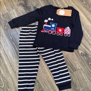Other - Boys train pajama set
